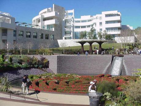 Central Garden, J. Paul Getty Museum