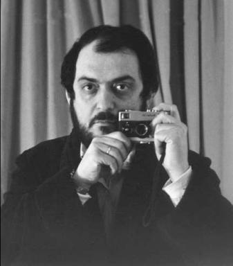 Stanley Kubrick self portrait.