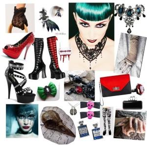 Femme Goth Accessories