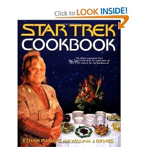 Star Trek Cookbook, $20