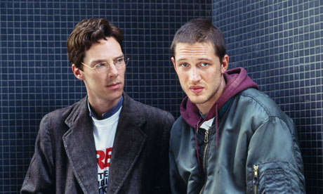 Benedict Cumberbatch and Tom Hardy in the 2007 TV adaptation of Stuart: A Life Backwards.