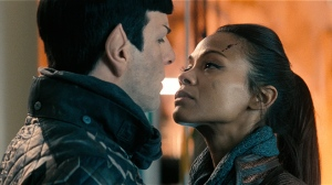 Uhura and Spock; equals or...?