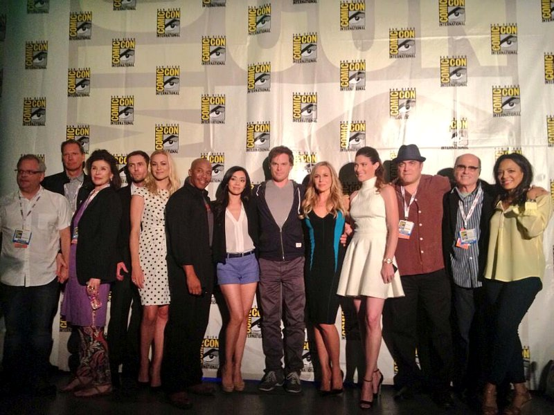 Cast of Dexter says goodbye at SDCC2013.