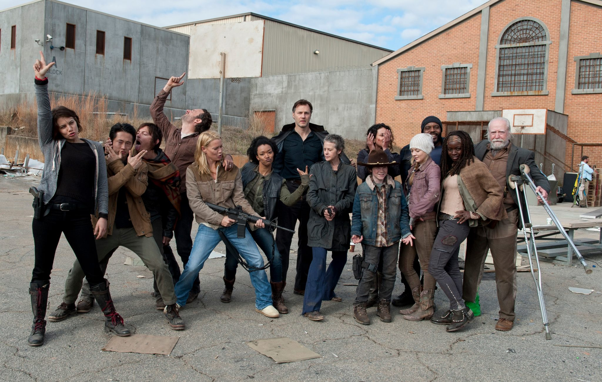 The Walking Dead\' at Comic Con 2013 – TheCollective