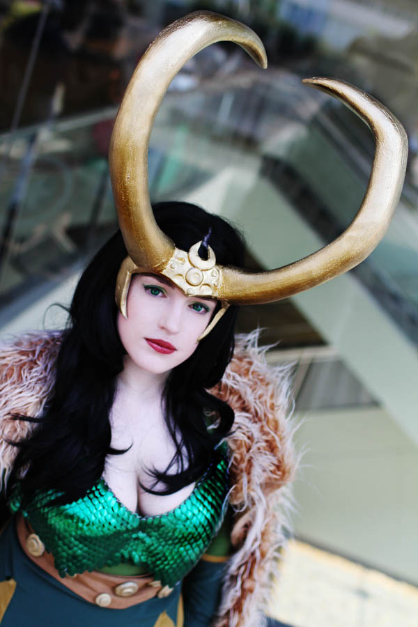 Femme!Loki is kinda perfect.