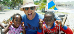 Misha Collins in Haiti with Random Acts