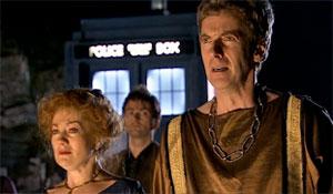 "Peter Capaldi in ""The Fires of Pompeii, 2008)"