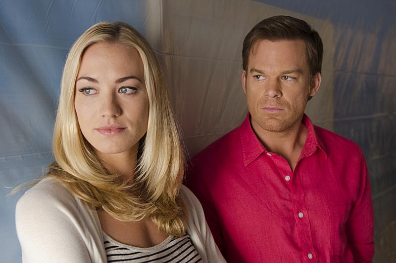 Another awkward Hannah/Dexter moment.