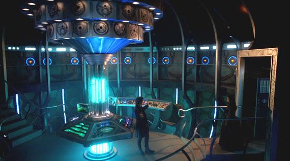 See the series 7 TARDIS interior on Google maps.