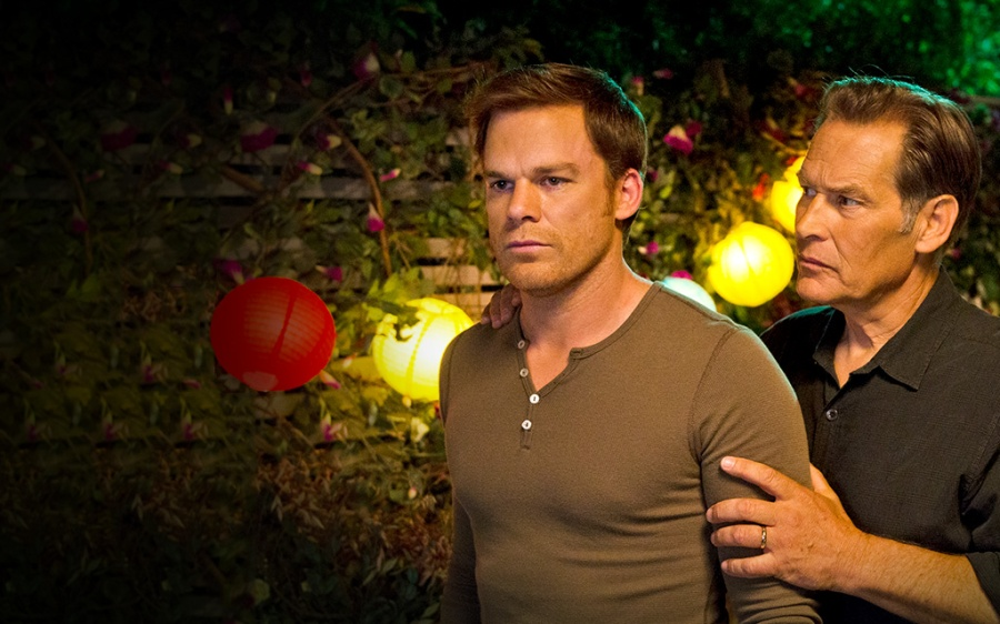 Dexter still listens to Papa Harry.