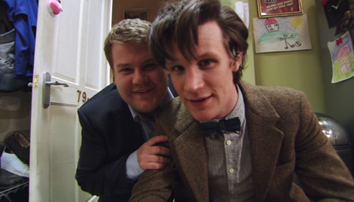 Craig Owens and the Doctor.