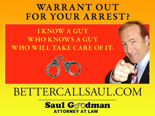 Better call Saul.