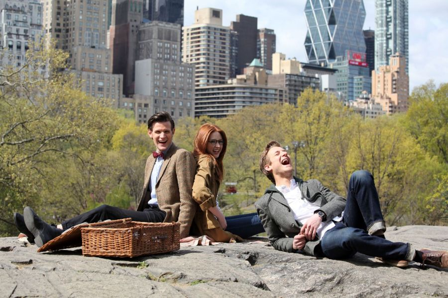 The Doctor and his Ponds.