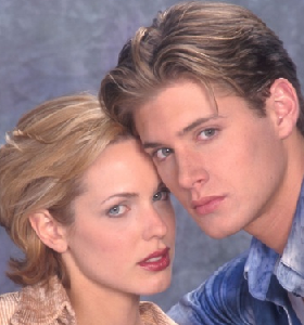 Oh Jensen, even before you were a Winchester, you knew how to brood perfectly.