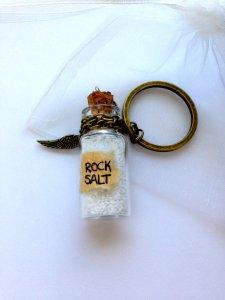 Rock salt, to keep the big bads out.