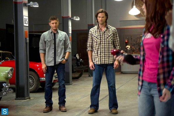 Imperiused Sam & Dean have excellent posture.