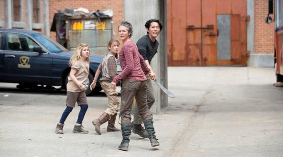 All of a sudden, Carol's got kids.