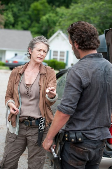 Rick forces Carol out of the group.