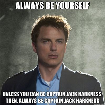 captain jack 2 meme mondays captain jack, a sexlord for all of time and space