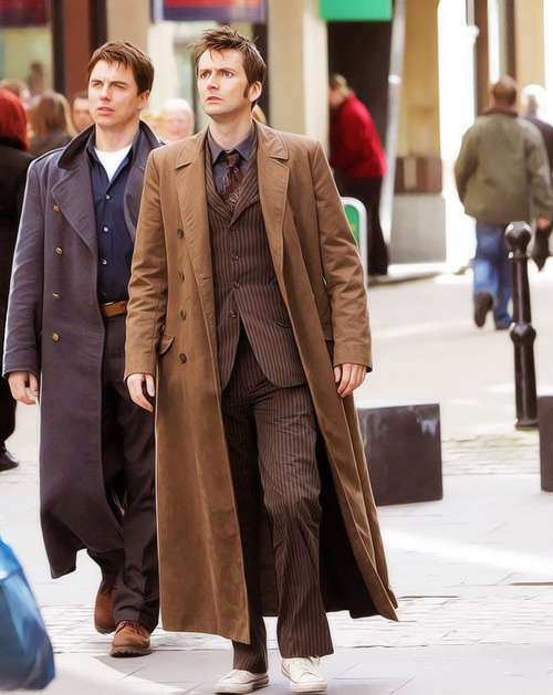 The original members of the sexy coat club.
