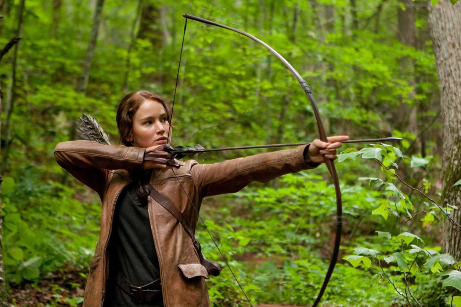 Katniss is already a hero in District 12.