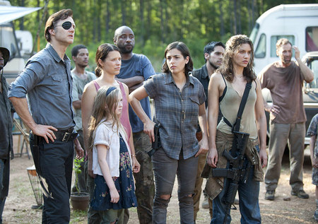 The Governor and his RV tribe. cr: AMC