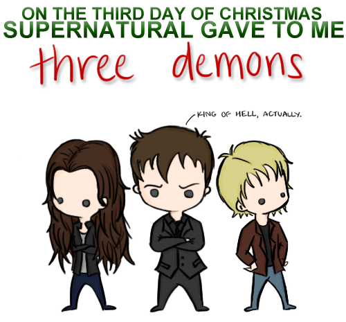 Funny Christmas Memes Tumblr : Meme monday days of a supernatural christmas the