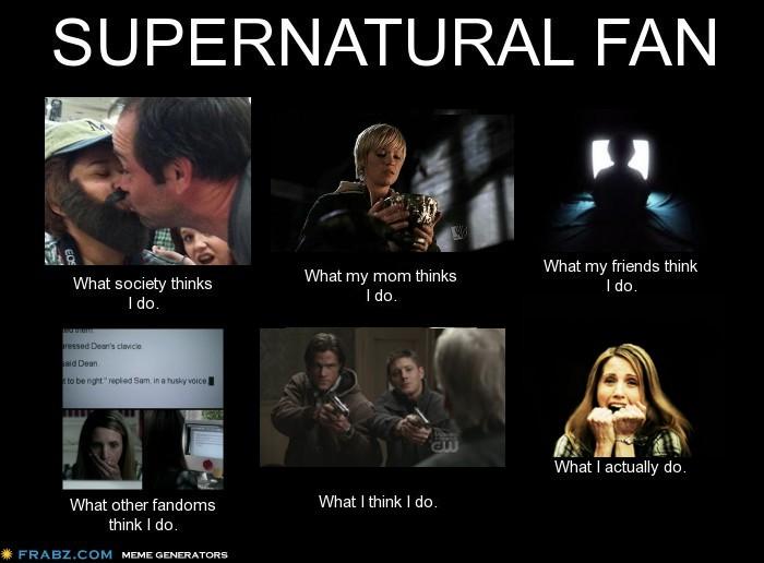 Supernatural Fan By Lia In Wonderland D5t8zz9