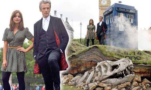 The Doctor lands in Parliament Square [Flynet]