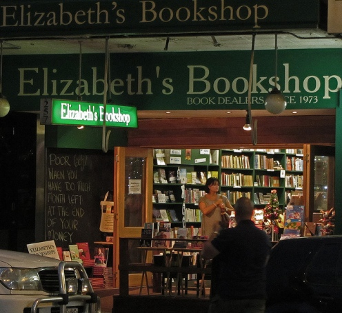 Elizabeth's Bookshop by Newtown Grafitti