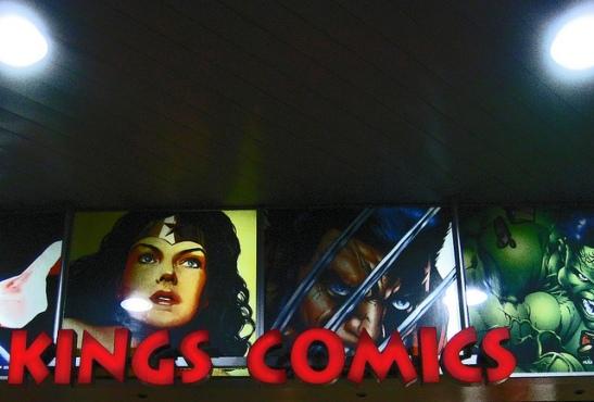 Kings Comics by Newtown Grafitti
