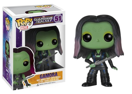 Gamora Funko Pop Doll, Amazon $12