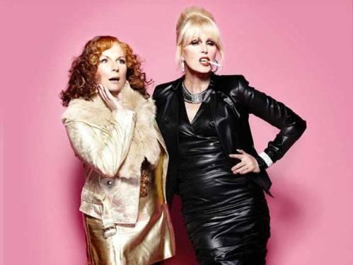 "Jennifer Saunders and Joanna Lumley, ""Absolutely Fabulous"""