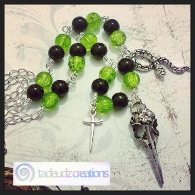 Bellatrix Lestrange necklace