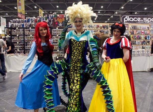 Ariel, Ursula (RossECobb), and Snow White