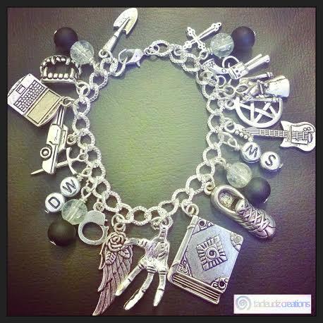 Supernatural charm bracelet
