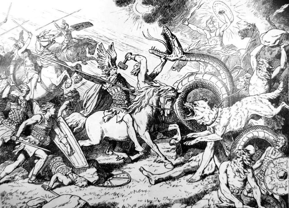 Ragnarok by Johannes Gehrts