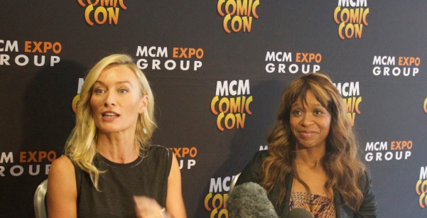 Victoria Smurfit (right) and Merrin Dungey (left)