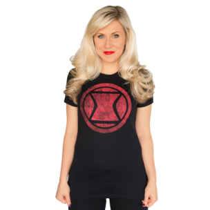Black Widow tee $20