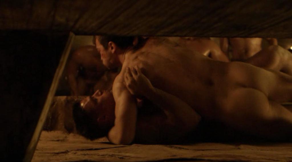 Spartacus naked men scenes