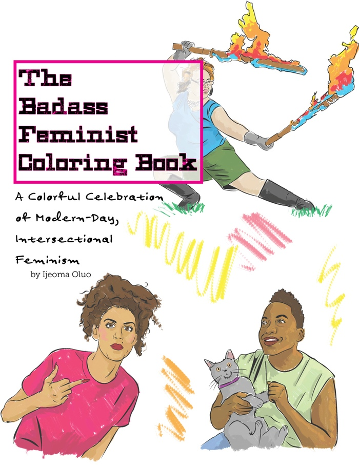 badassfem - Coloring Book Creator
