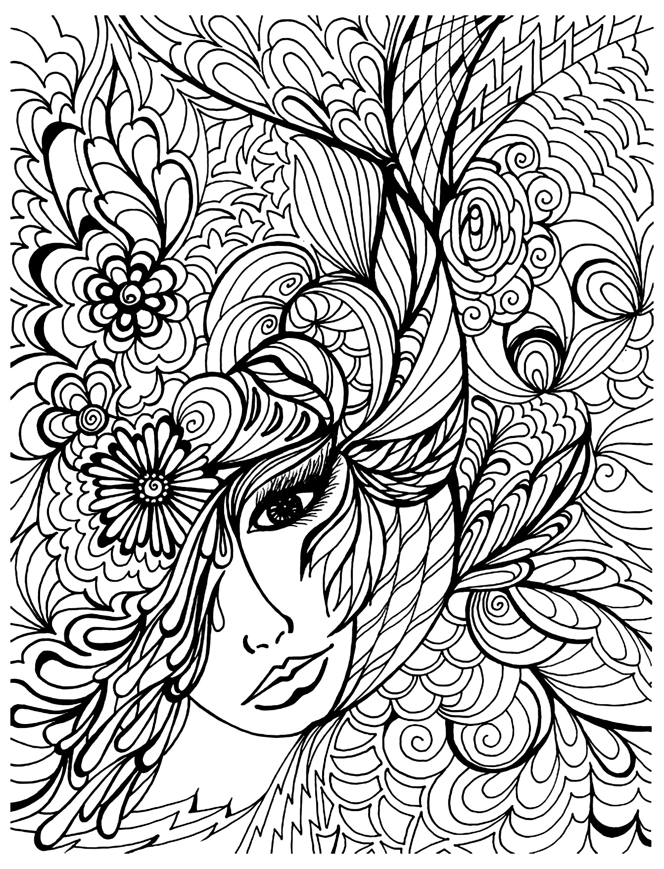 5 cool coloring books for grown ups - Coloring Book For Grown Ups