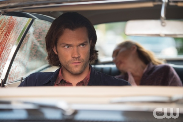 "Supernatural — ""Baby"" — Image SN1104A_0319.jpg — Pictured: Jared Padalecki as Sam — Photo: Diyah Pera /The CW — © 2015 The CW Network, LLC. All Rights Reserved"