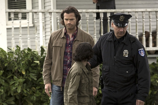 """Supernatural -- """"Thin Lizzie"""" -- Image SN1105b_0074 -- Pictured (L-R): Jared Padalecki as Sam -- Photo: Katie Yu/The CW -- © 2015 The CW Network, LLC. All Rights Reserved."""