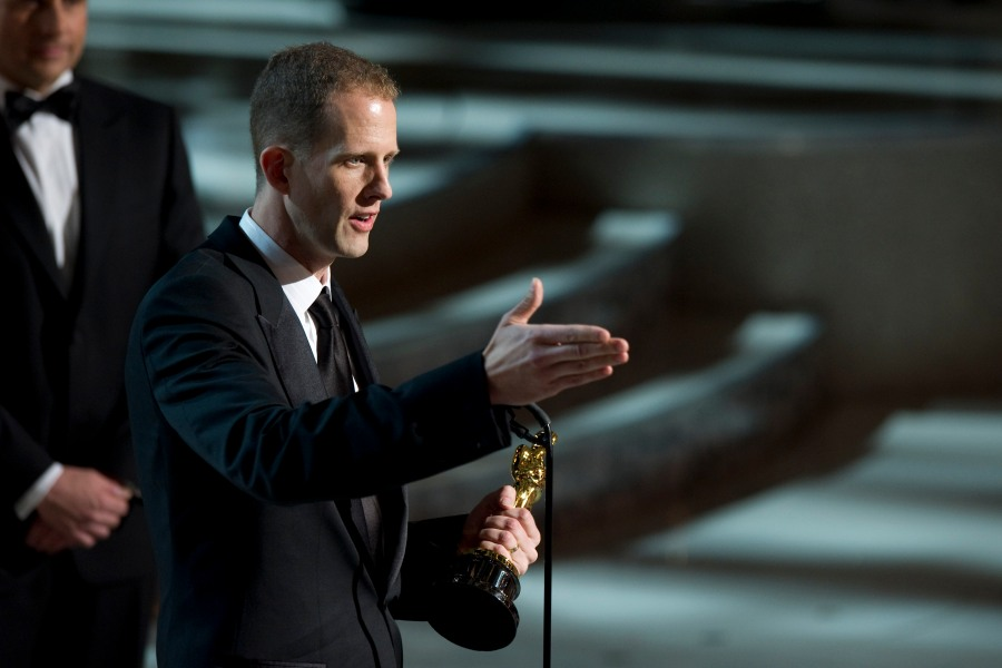 Pete Docter accepts the Academy Award for Best Animated during the 82nd Annual Academy Awards at the Kodak Theatre in Hollywood, CA, on Sunday, March 7, 2010.