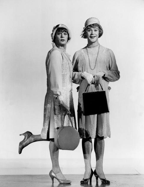 Tony Curtis and Jack Lemmon