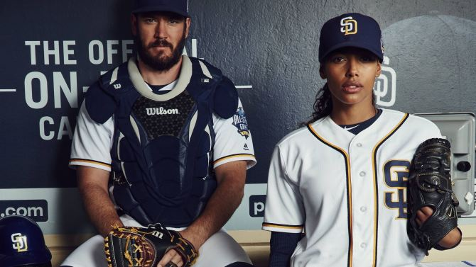 "PITCH: L-R: Mark-Paul Gosselaar and Kylie Bunbury in the all-new ""Pilot"" series premiere episode of PITCH airing Thursday, Sept. 22 (8:59-10:00 PM ET/PT) on FOX. CR: FOX. © 2016 FOX Broadcasting Co."