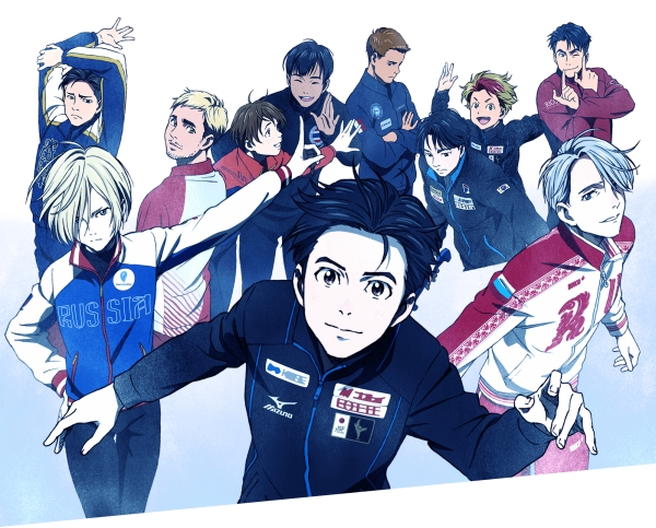 """Yuri!!! On Ice"" Official Art"