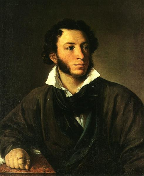 """Portrait Of Alexander Pushkin"" by Vasily Tropinin"