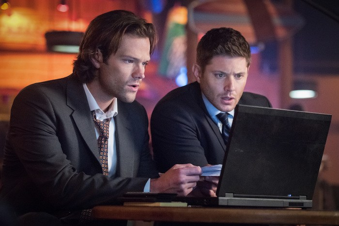 "Supernatural --""Regarding Dean""-- SN1211a_0315.jpg -- Pictured (L-R): Jared Padalecki as Sam and Jensen Ackles as Dean -- Photo: Dean Buscher/The CW -- © 2017 The CW Network, LLC. All Rights Reserved"